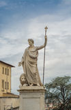 Marble statue of Arezzo Stock Photography