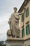 Marble statue of Arezzo Stock Images