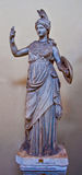 Marble statue of Athena Stock Image