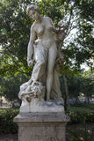 Marble statue of autumn - Sculptor: Gustave Frédéric Michel Royalty Free Stock Image