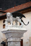 San Marco winged lion statue Royalty Free Stock Images