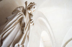 A marble statue of a king Stock Photo