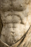 Marble Statue Of Male Torso Royalty Free Stock Photos