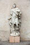 Marble statue of Man in Castelvecchio Museum. Verona Stock Photos