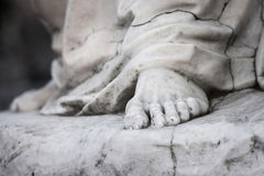 A marble statue Royalty Free Stock Photography