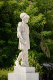 Marble statue of Pericles in Athens, Greece. Statue of Pericles carved in marble on the streets of Athens, Greece Royalty Free Stock Photography