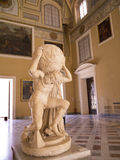 Marble statue from Pompeii in Naples Italy Royalty Free Stock Photo