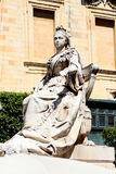 Marble statue of Queen Victoria Stock Images