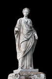 Marble statue of roman Ceres or greek Demeter Royalty Free Stock Photography