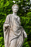 Marble statue of roman Ceres or greek Demeter in Royalty Free Stock Images