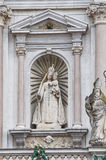 Marble statue of a sanctuary. Royalty Free Stock Image