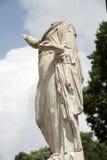Marble statue in Villa Borghese, public park in Rome. Stock Photos