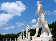 Marble statues Royalty Free Stock Photo