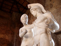 Marble statues Stock Images