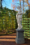 Marble statues in Summer garden, Royalty Free Stock Photography