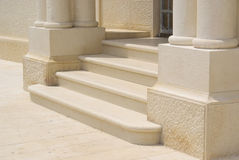 Marble step Stock Image
