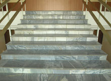 Marble steps Royalty Free Stock Images