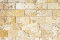 Marble stone facade Royalty Free Stock Photos