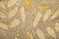 Marble-stone mosaic Royalty Free Stock Photo