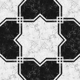 Marble stone mosaic pattern. Stock Photos