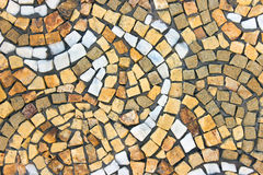 Marble stone mosaic texture Royalty Free Stock Photos