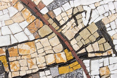 Marble stone mosaic texture Stock Image