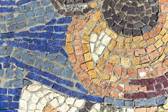 Marble stone mosaic texture Stock Photos