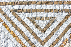 Marble stone mosaic texture Royalty Free Stock Photo