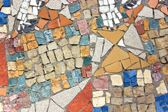 Marble stone mosaic texture Royalty Free Stock Photos