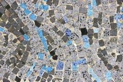 Marble stone mosaic Royalty Free Stock Photo