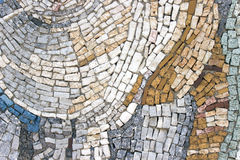 Marble stone mosaic texture Royalty Free Stock Images