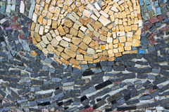 Marble stone mosaic texture Royalty Free Stock Photography