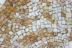 Marble stone mosaic texture Stock Photography