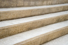 Marble Stone staircase Royalty Free Stock Photography