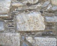 Marble & stone wall closeup Royalty Free Stock Photo