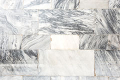 Marble stone wall Royalty Free Stock Images