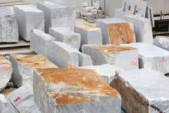 Marble stoneworking Stock Photos