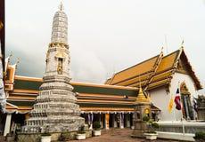 Marble stupa in wat pho royal temple. Marble stupa in wat pho official name is Wat Phra Chetuphon Vimolmangklararm Rajwaramahaviharn royal temple in bangkok stock images