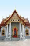Marble Temple - Bangkok. The Marble Temple in Bankgok Thailand. Locally known as Wat Benchamabophit Stock Image