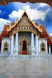 Marble Temple  Bangkok Thailand Stock Photos