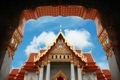 The Marble Temple, Bangkok, Thailand Stock Image