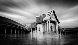 Marble Temple of Bangkok Stock Images