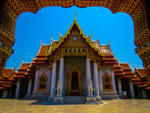 Marble Temple, Bangkok Royalty Free Stock Photo