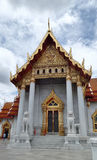 Marble Temple in Bangkok Thailand Royalty Free Stock Images