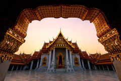 Marble Temple, Bangkok Stock Photography