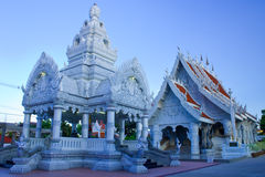 Marble temple,post of city,Nan,Thailand Royalty Free Stock Image