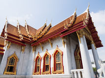 Marble Temple or Wat Benchamabophit Stock Photography