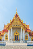 The Marble Temple, Wat Benchamabophit Dusitvanaram Bangkok Royalty Free Stock Images