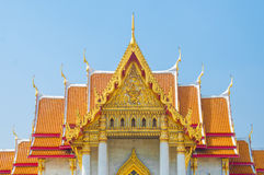 The Marble Temple, Wat Benchamabophit Dusitvanaram Bangkok Royalty Free Stock Photography
