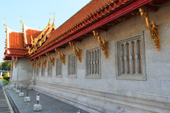The Marble Temple, Wat Benchamabopit Dusitvanaram in Bangkok, Th Royalty Free Stock Photos